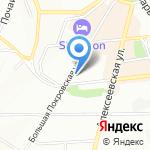 НижЛегпром на карте Нижнего Новгорода