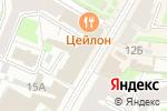 Схема проезда до компании Глав УКС в Нижнем Новгороде