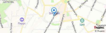Городской фонд поддержки предпринимательства на карте Нижнего Новгорода