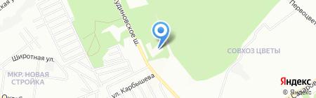 Санаторная лесная школа на карте Нижнего Новгорода