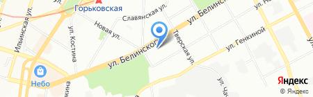 Банкомат Банк Возрождение ПАО на карте Нижнего Новгорода