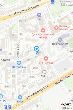 Дом на ул. Славянская у дома 29 на Яндекс.Картах