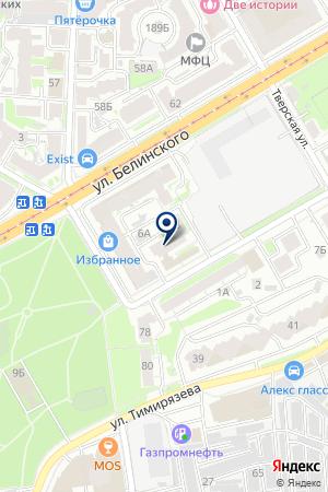 КОМПЬЮТЕРНАЯ ФИРМА ДОМИНИОН на карте Нижнего Новгорода