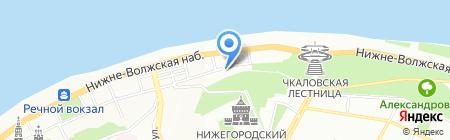 ТехноПап на карте Нижнего Новгорода