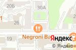 Схема проезда до компании DressparaD в Нижнем Новгороде