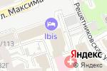 Схема проезда до компании Инжиниринг Газ Систем в Нижнем Новгороде
