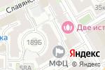 Схема проезда до компании Славянка-25 в Нижнем Новгороде