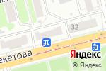 Схема проезда до компании Нетпринт в Нижнем Новгороде