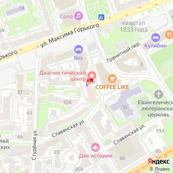 г. Нижний Новгород, ул. Решетниковская,2 на карта