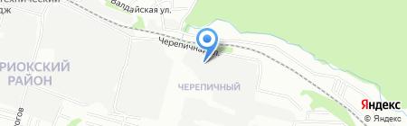 ВолгаТрейд на карте Нижнего Новгорода