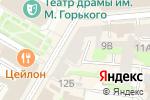 Схема проезда до компании Грядка в Нижнем Новгороде