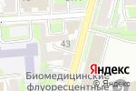 Схема проезда до компании Цветочный салон в Нижнем Новгороде