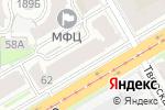 Схема проезда до компании Нижновстрой и Ко в Нижнем Новгороде