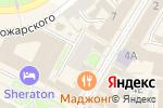 Схема проезда до компании ВодоходЪ в Нижнем Новгороде