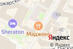 Схема проезда до компании Gong Cha в Нижнем Новгороде