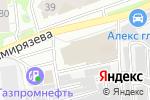 Схема проезда до компании Атлас Копко в Нижнем Новгороде