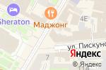 Схема проезда до компании Орхидея-тур в Нижнем Новгороде