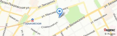 Uni Group на карте Нижнего Новгорода