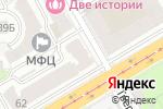 Схема проезда до компании Belladonna в Нижнем Новгороде