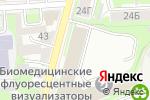 Схема проезда до компании Скэнар-НН в Нижнем Новгороде
