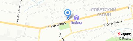 Рыболов на карте Нижнего Новгорода