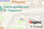 Схема проезда до компании Fabi в Нижнем Новгороде