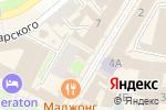 Схема проезда до компании Оникс в Нижнем Новгороде