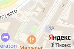 Схема проезда до компании Bounty в Нижнем Новгороде