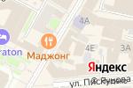 Схема проезда до компании Мишель в Нижнем Новгороде