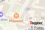 Схема проезда до компании Хачапурия в Нижнем Новгороде