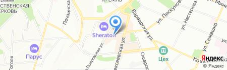 Нижегородская фотошкола на карте Нижнего Новгорода