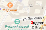 Схема проезда до компании Студия актерского мастерства в Нижнем Новгороде