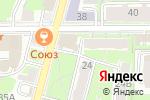 Схема проезда до компании АйСиЭс тревел групп в Нижнем Новгороде