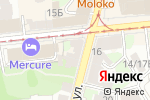 Схема проезда до компании Рослайн в Нижнем Новгороде