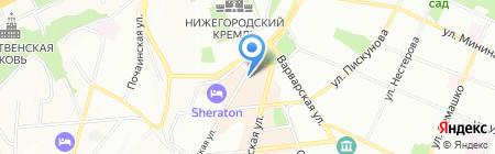 Совок на карте Нижнего Новгорода