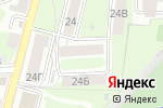 Схема проезда до компании КОМБО склад в Нижнем Новгороде