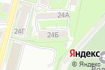 Схема проезда до компании Нижегородское общество защиты прав потребителей в Нижнем Новгороде