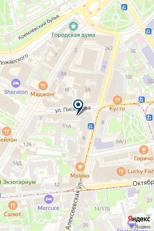 РОК БАР на карте Нижнего Новгорода