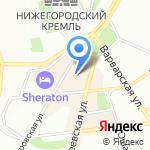 Магазин табачных изделий на карте Нижнего Новгорода