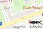 Схема проезда до компании Ledi sharm в Нижнем Новгороде