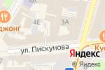 Схема проезда до компании АнтиквариусЪ в Нижнем Новгороде