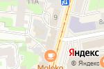 Схема проезда до компании Инкомтех в Нижнем Новгороде