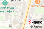 Схема проезда до компании Zodiac Интерьер & Керамика в Нижнем Новгороде