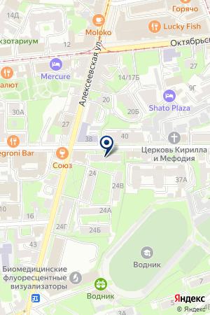 ВОКАЛЬНЫЙ КВИНТЕТ АНИМА на карте Нижнего Новгорода