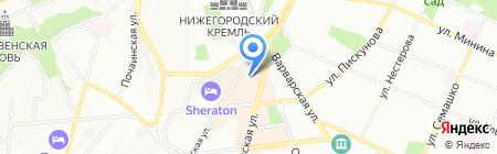 Фотоshop на карте Нижнего Новгорода