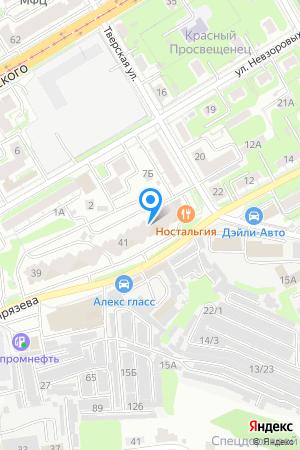 Дом 43 по ул. Тимирязева, ЖК Пушкинский на Яндекс.Картах