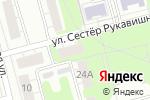 Схема проезда до компании Топаз-электро в Нижнем Новгороде