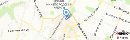 Элекснет на карте Нижнего Новгорода