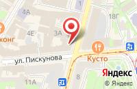 Схема проезда до компании ПаллетСити в Дзержинском