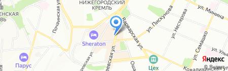 Все для дома на карте Нижнего Новгорода